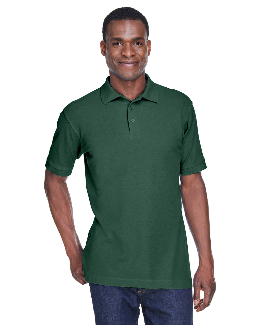 Hunter - M280 Harriton Men's Blend-Tek Polo Shirt | BlankClothing.ca