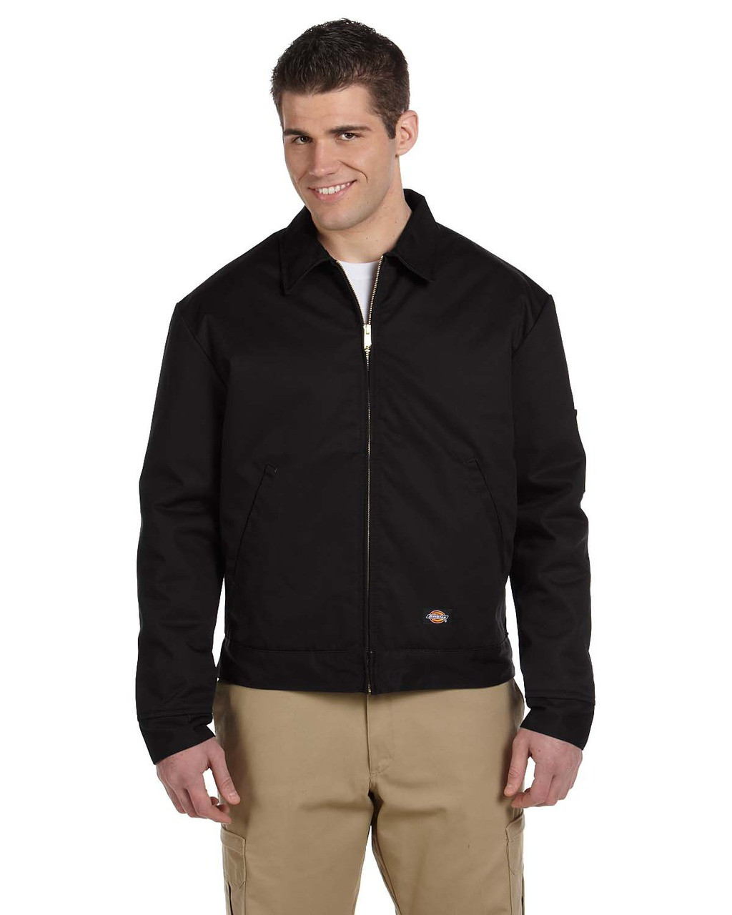 Black - JT15 Dickies Lined Eisenhower Jacket | Blankclothing.ca