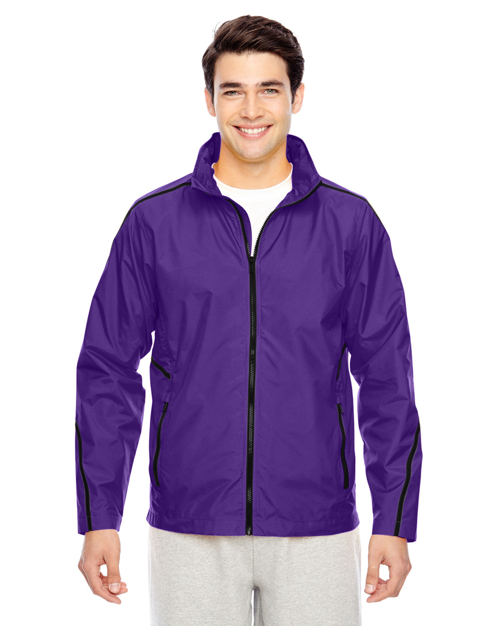 Purple - TT70 Team 365 Conquest Jacket with Mesh Lining | BlankClothing.ca