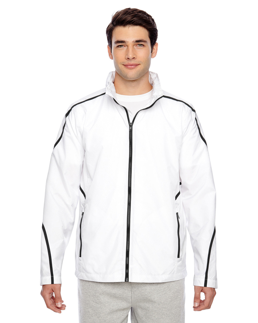White - TT70 Team 365 Conquest Jacket with Mesh Lining | BlankClothing.ca