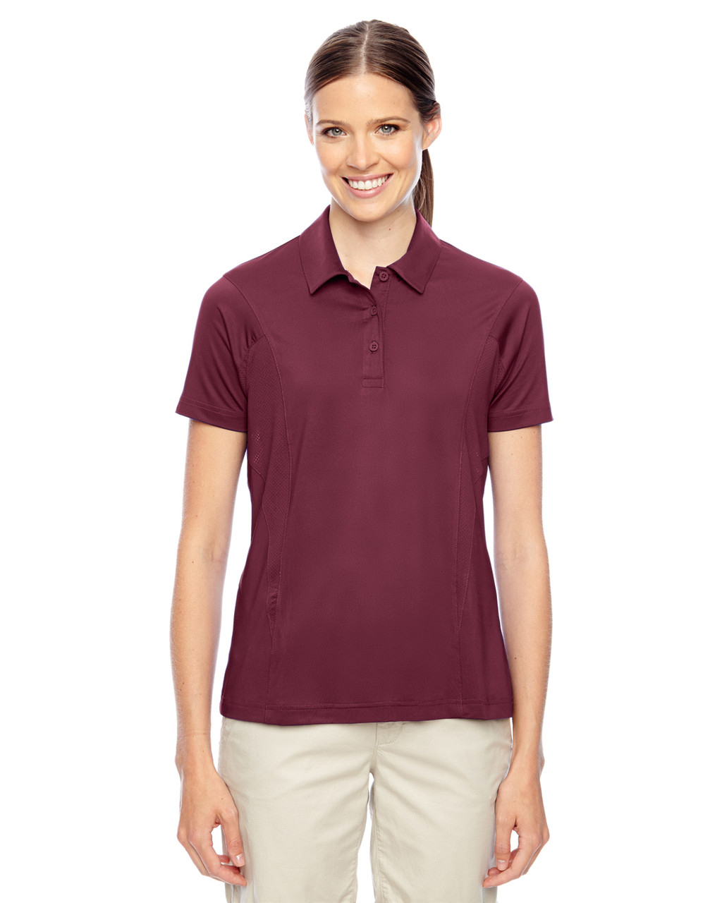 Maroon - TT20W Team 365 Charger Performance Polo Shirt