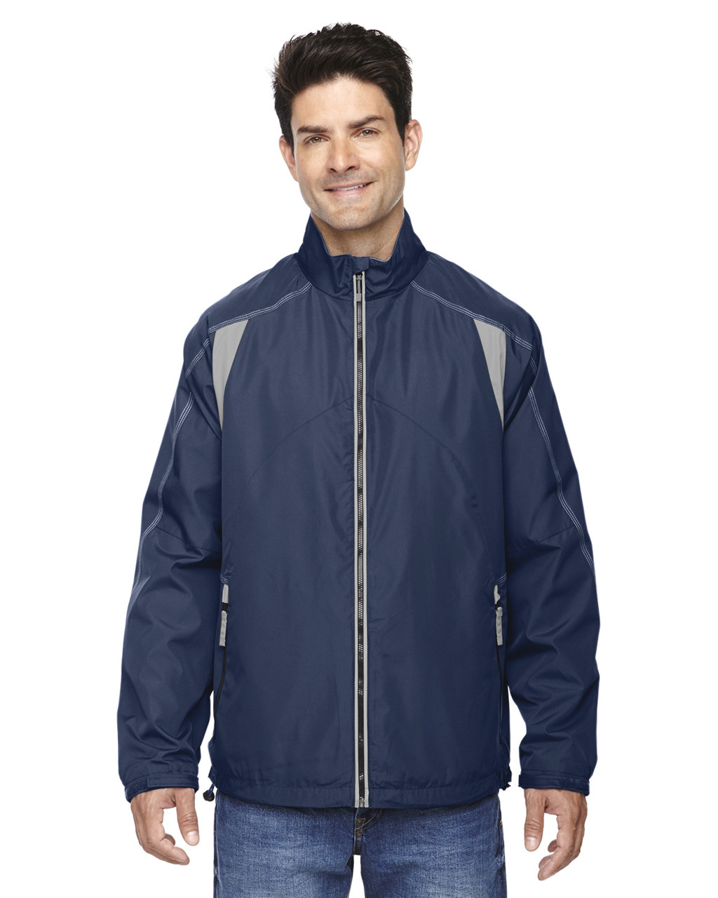 Night - 88155 North End Men's Lightweight Colour-Block Jacket | Blankclothing.ca