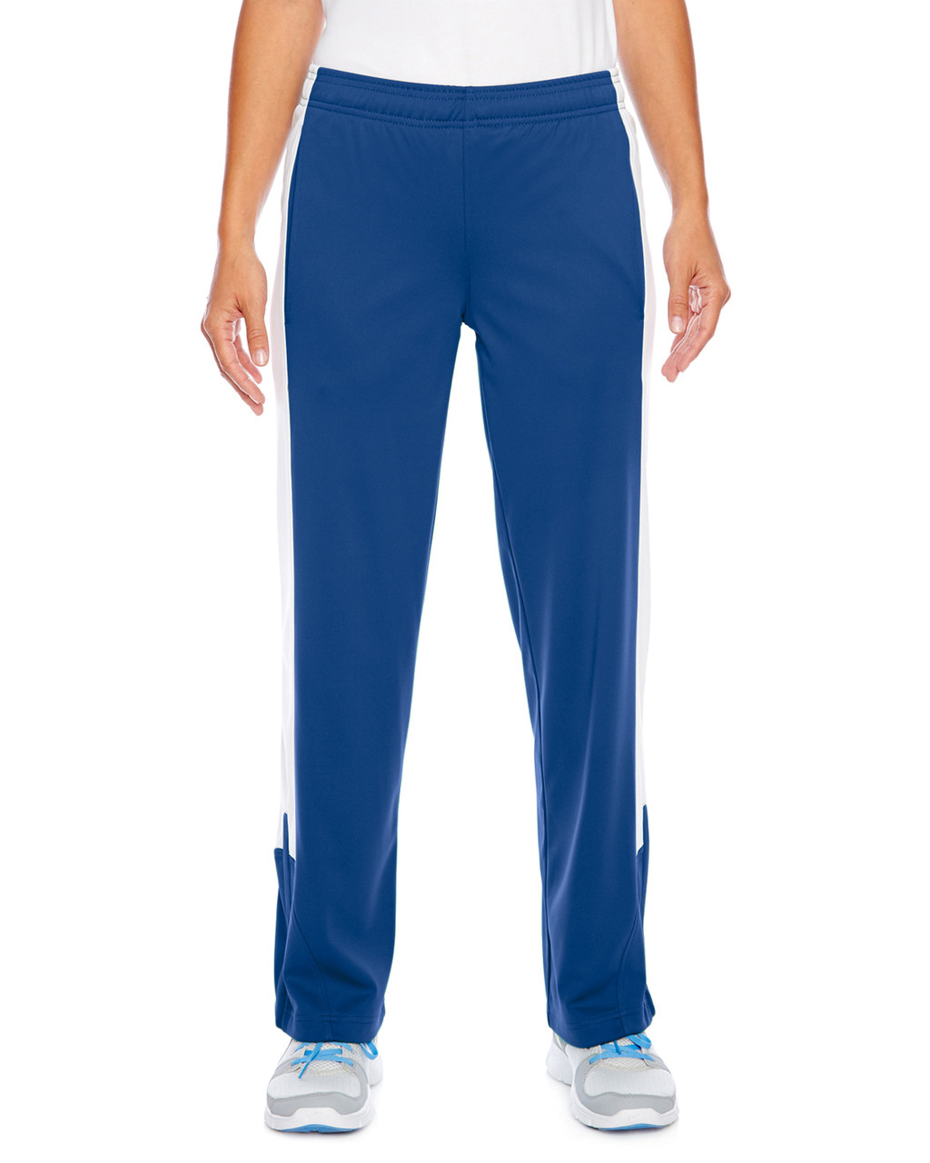 Royal/White - TT44W Team 365 Ladies' Performance Fleece Pant | Blankclothing.ca