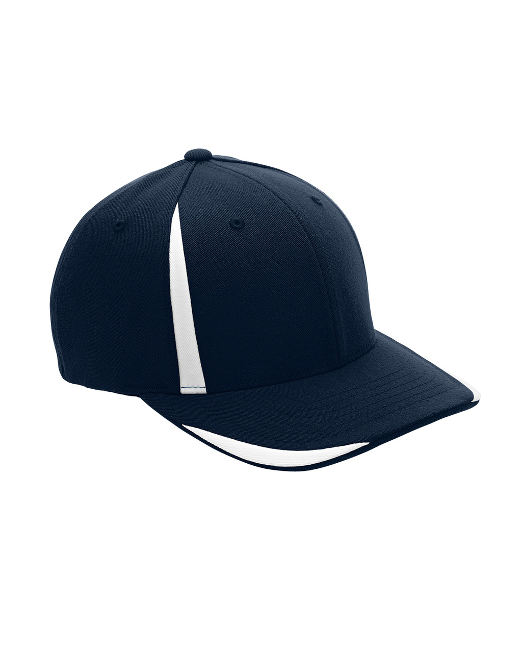 Dark Navy/White - ATB102 Flexfit for Team 365 Pro-Formance Front Sweep Cap