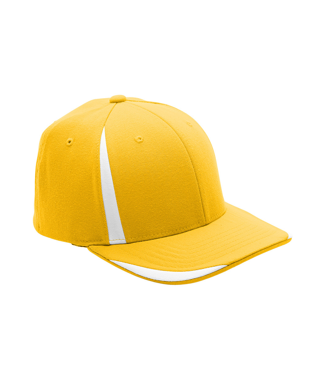 Athletic Gold/White - ATB102 Flexfit for Team 365 Pro-Formance Front Sweep Cap