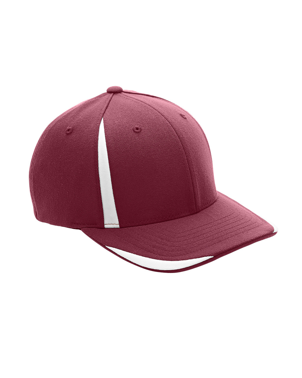 Maroon/White - ATB102 Flexfit for Team 365 Pro-Formance Front Sweep Cap