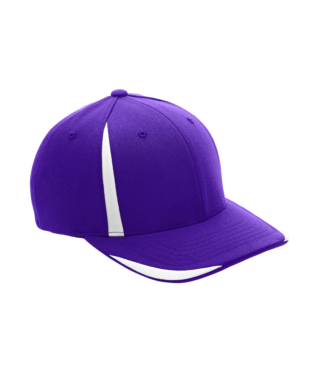 Purple/White - ATB102 Flexfit for Team 365 Pro-Formance Front Sweep Cap