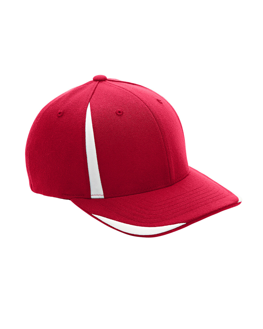Red/White - ATB102 Flexfit for Team 365 Pro-Formance Front Sweep Cap