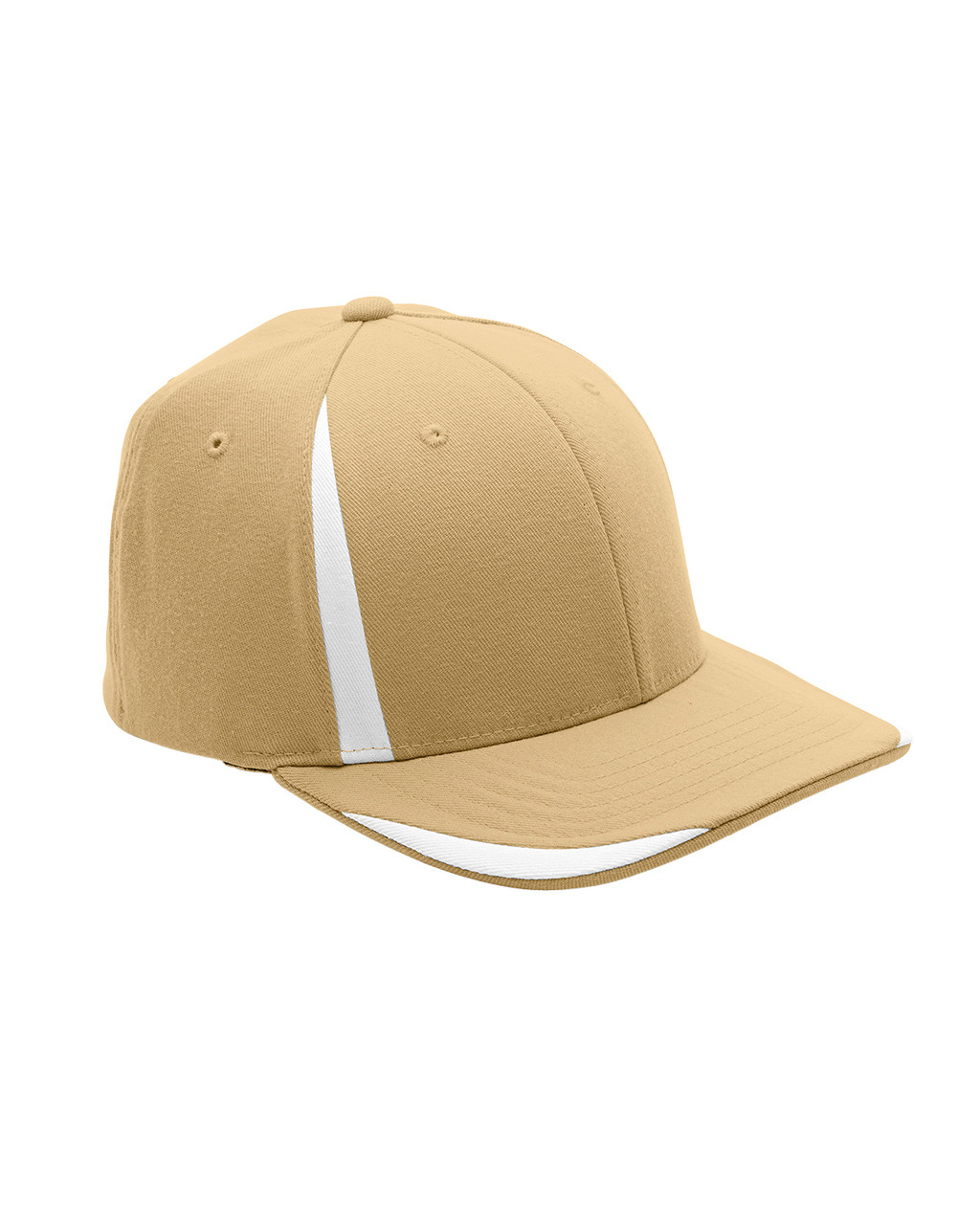 Vegas Gold/White - ATB102 Flexfit for Team 365 Pro-Formance Front Sweep Cap