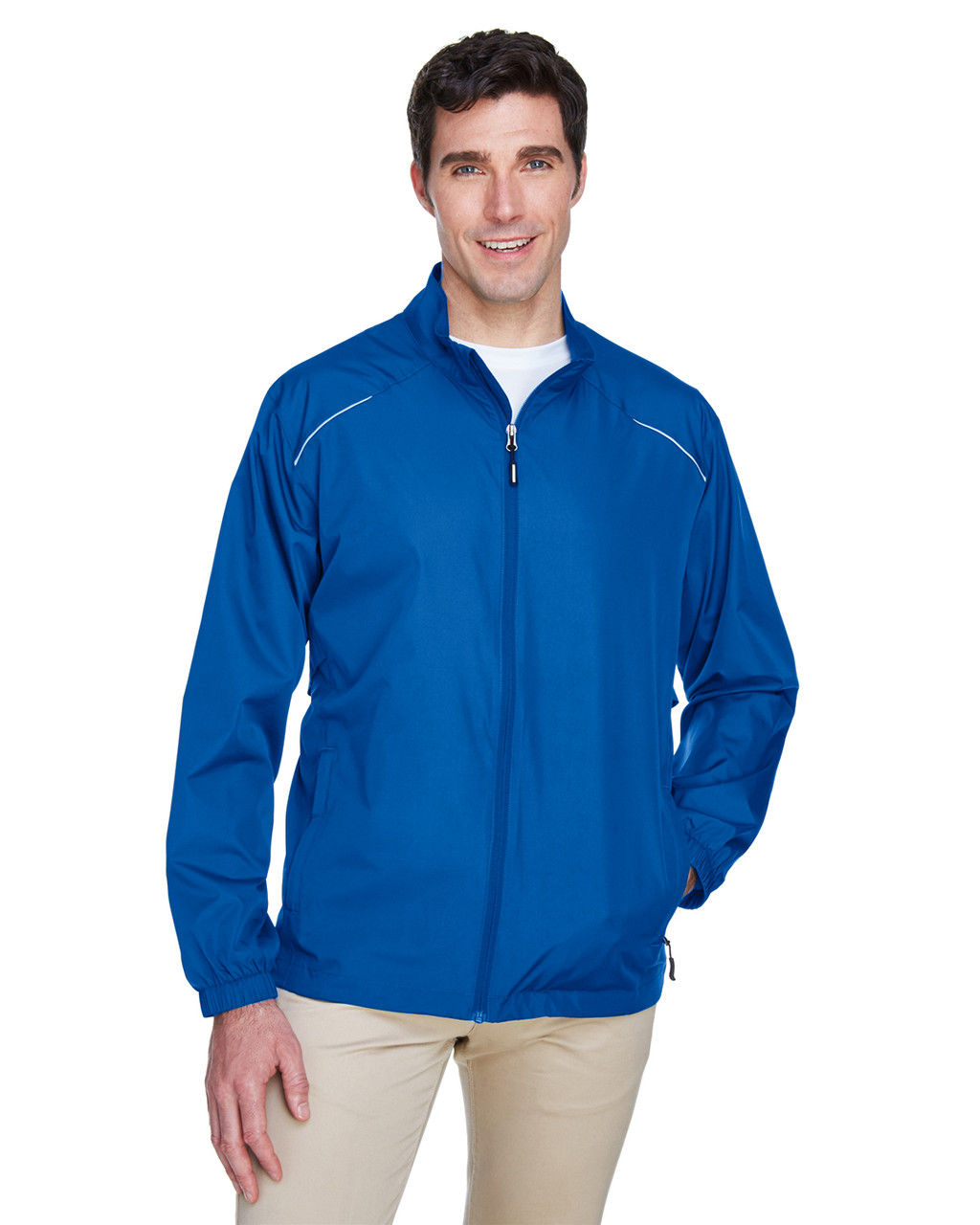 True Royal - 88183T Ash City - Core 365 Tall Motivate Unlined Lightweight Jacket | Blankclothing.ca