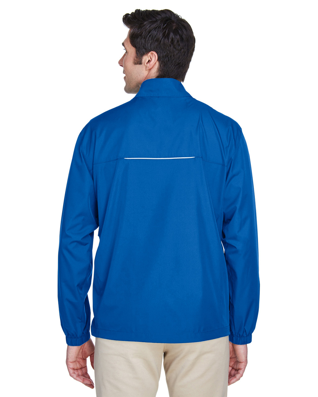 True Royal - Back, 88183T Ash City - Core 365 Tall Motivate Unlined Lightweight Jacket | Blankclothing.ca