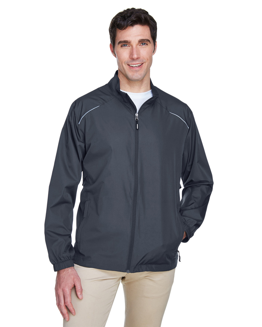Carbon - 88183 Ash City - Core 365 Motivate Unlined Lightweight Jacket | Blankclothing.ca