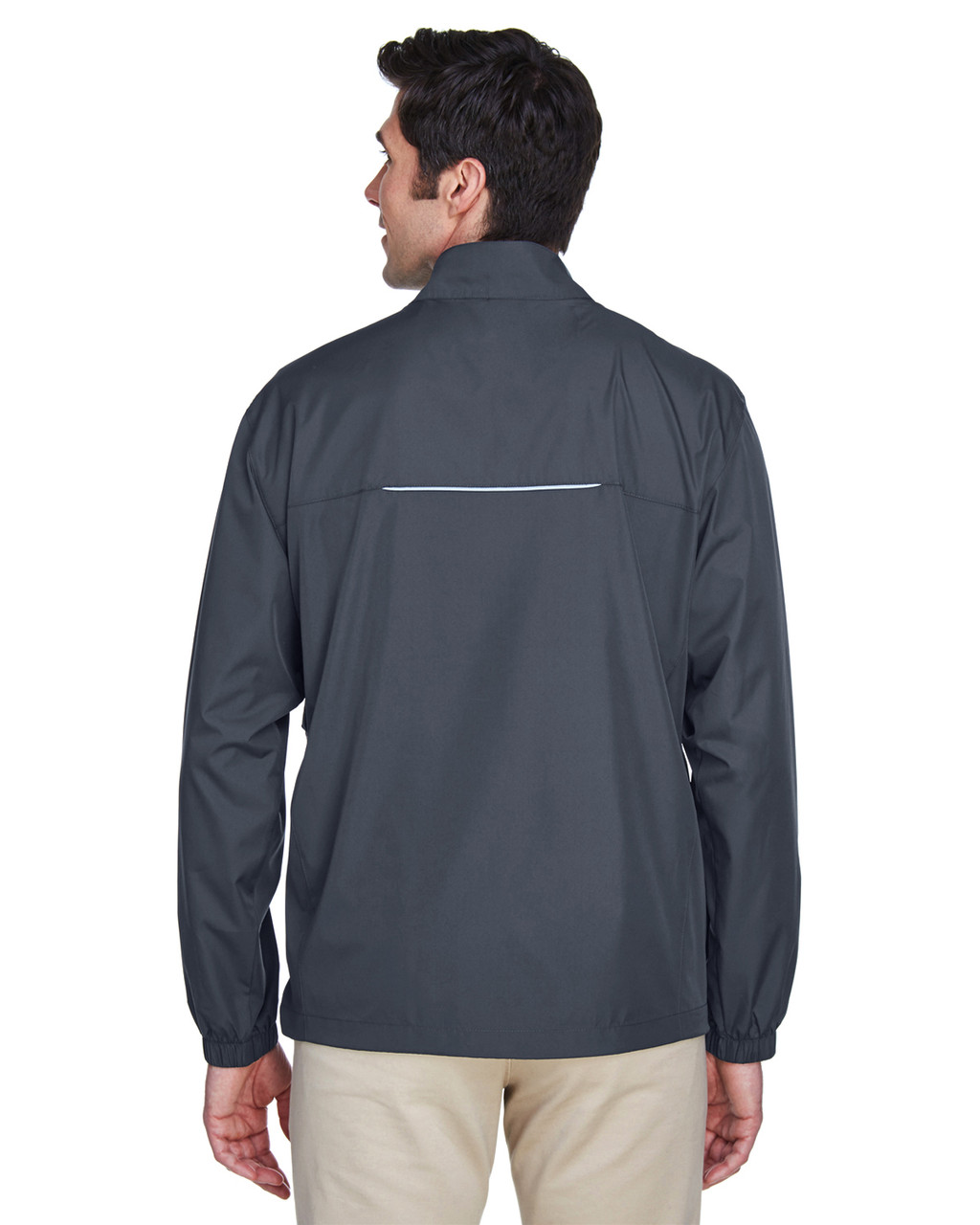 Carbon - Back, 88183 Ash City - Core 365 Motivate Unlined Lightweight Jacket | Blankclothing.ca