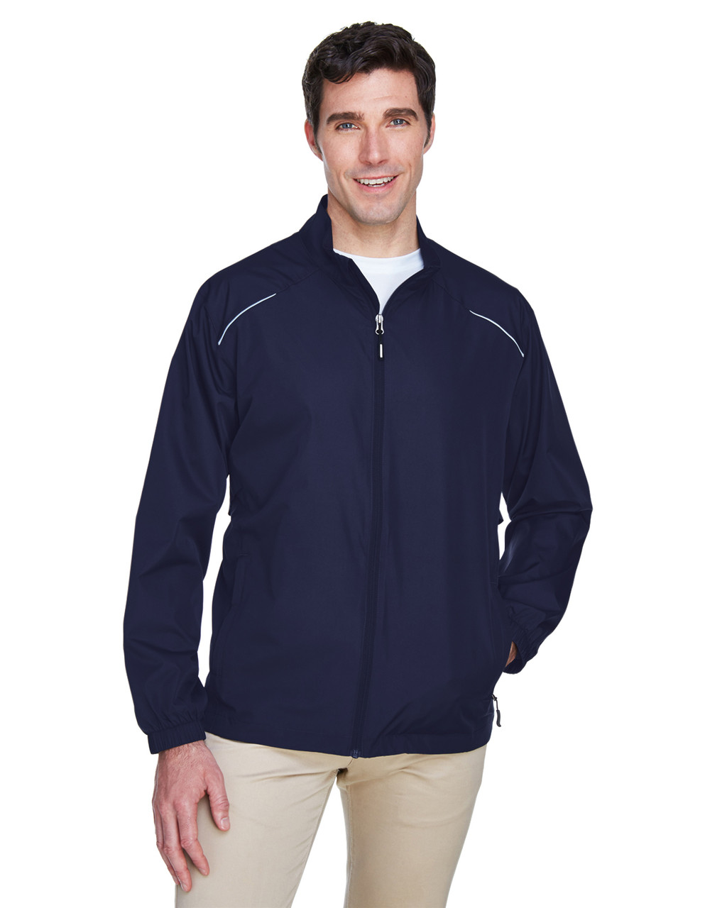 Classic Navy - 88183 Ash City - Core 365 Motivate Unlined Lightweight Jacket | Blankclothing.ca