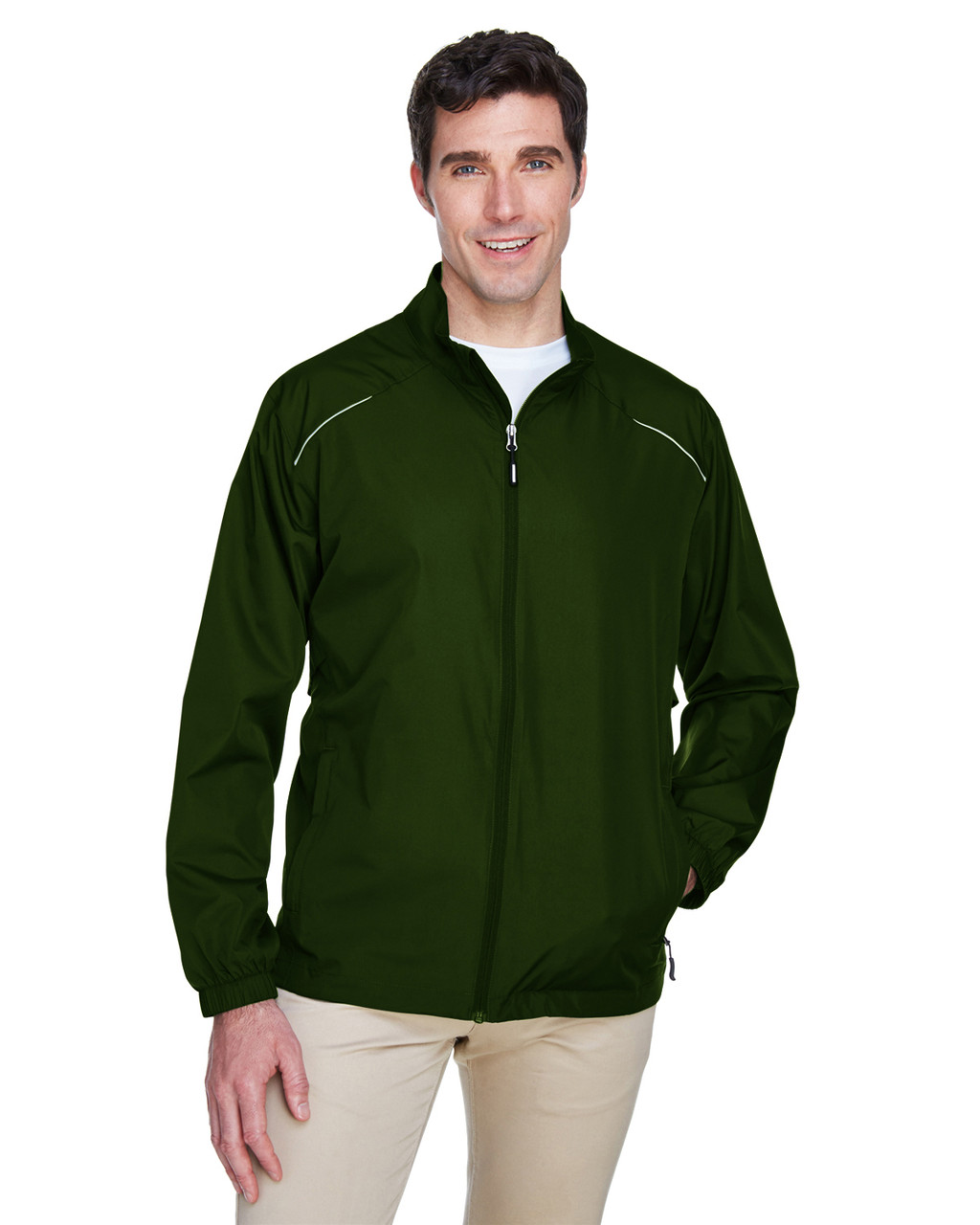 Forest Green - 88183 Ash City - Core 365 Motivate Unlined Lightweight Jacket | Blankclothing.ca