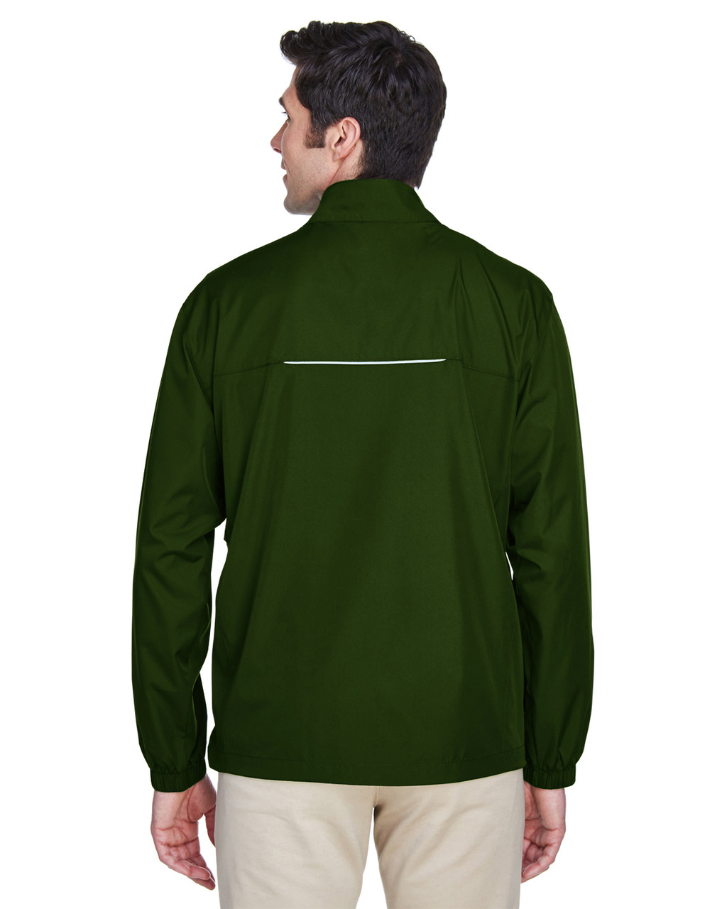 Forest Green - Back, 88183 Ash City - Core 365 Motivate Unlined Lightweight Jacket | Blankclothing.ca