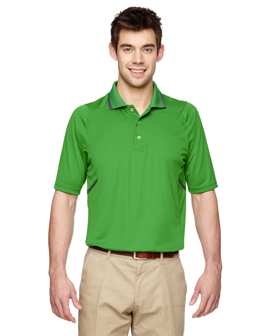 Valley Green - Extreme Eperformance Propel Interlock Polo Shirt with Contrast Tape