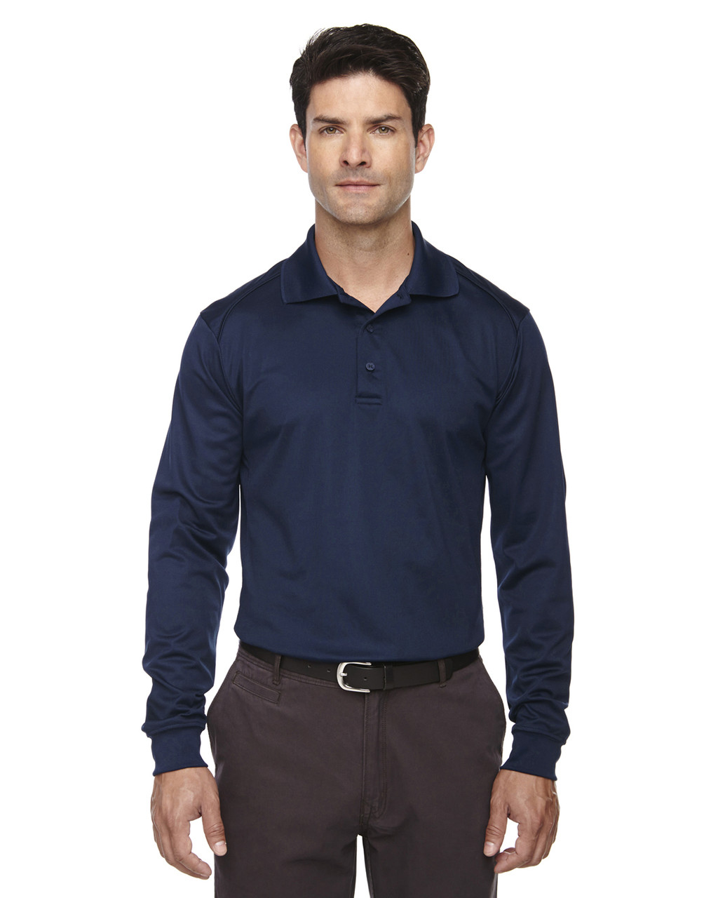 Classic Navy 85111 Ash City - Extreme Eperformance Men's Long-Sleeve Polo Shirt