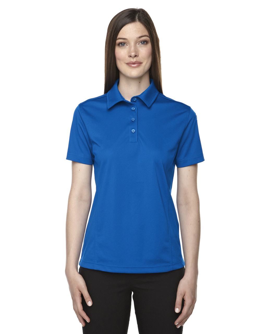 True Royal - 75114 Ash City - Extreme Eperformance Ladies Snag Protection Plus Polo Shirt