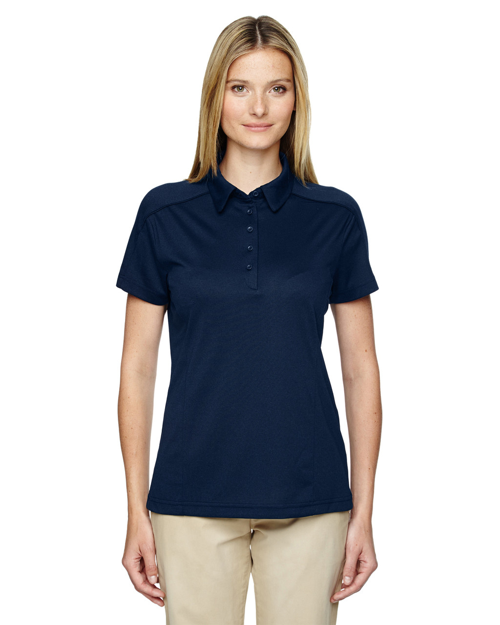 Night 75117 Ash City - Extreme Eperformance Mélange Polo Shirt