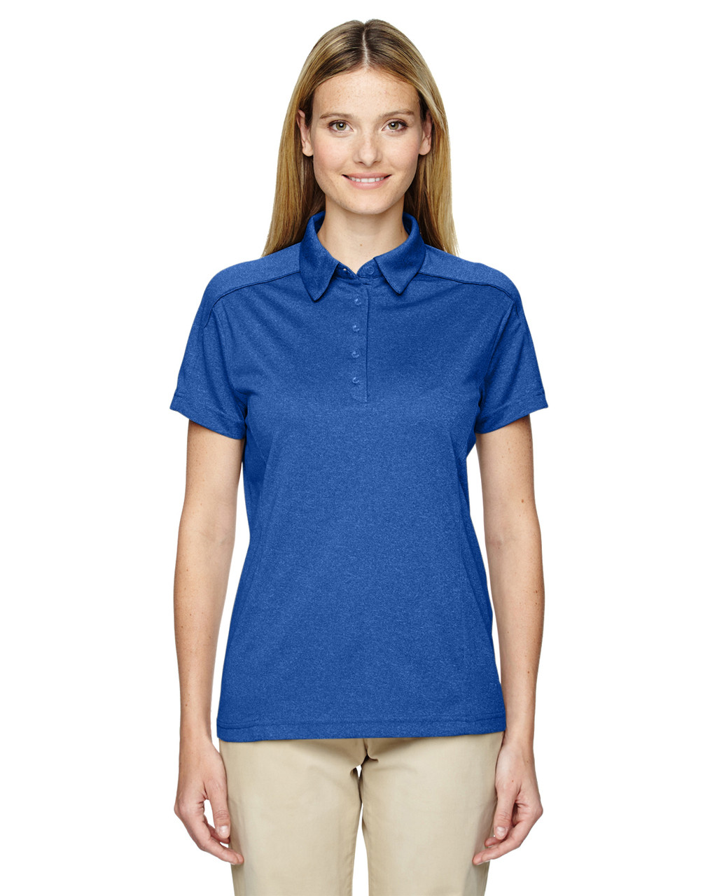 Nauticl Blue 75117 Ash City - Extreme Eperformance Mélange Polo Shirt