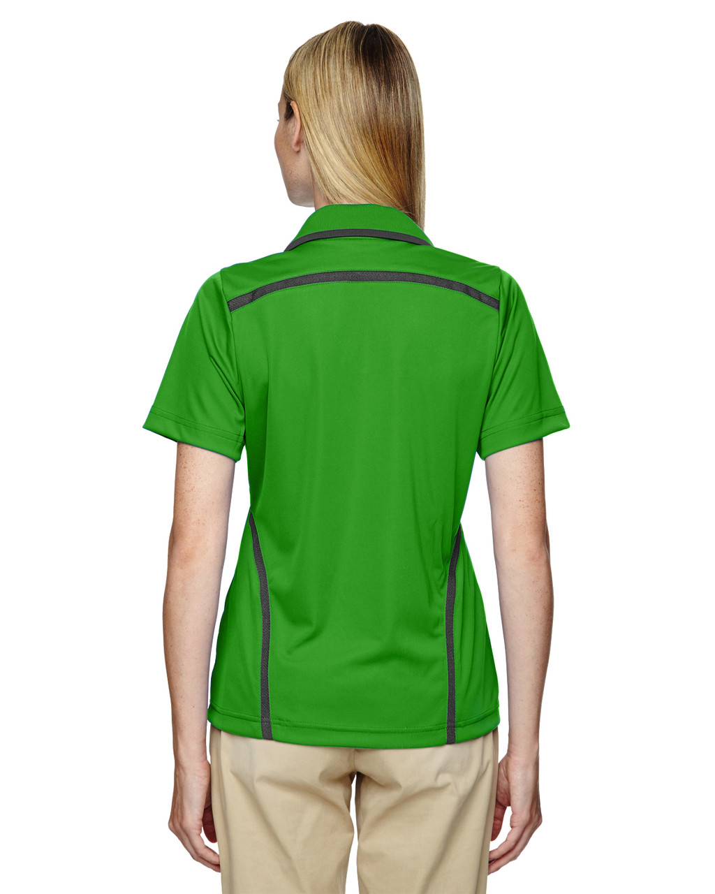 Valley Green - Back, 75118 Ash City - Extreme Eperformance Propel Interlock Polo Shirt with Contrast Tape | BlankClothing.ca