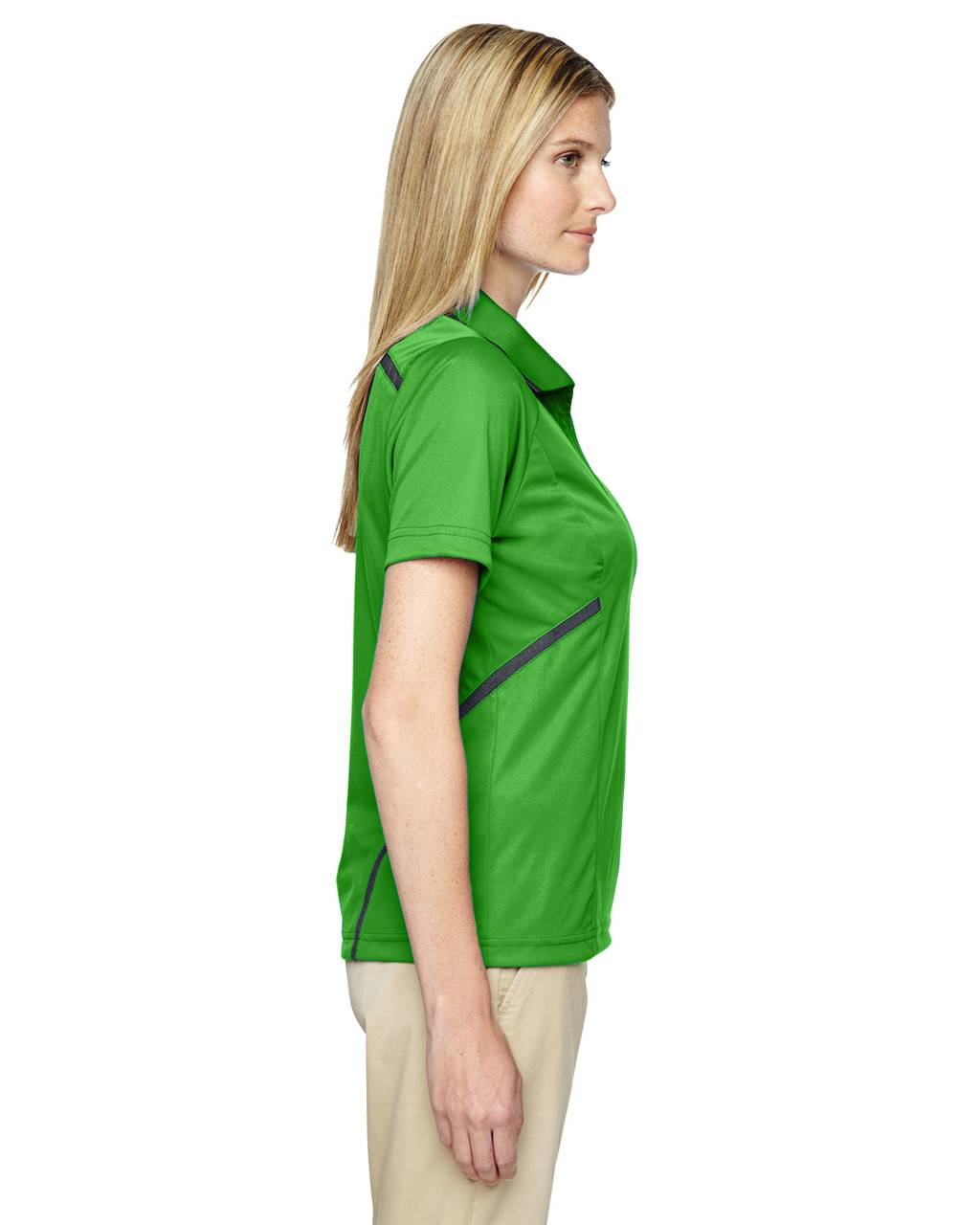 Valley Green - Side, 75118 Ash City - Extreme Eperformance Propel Interlock Polo Shirt with Contrast Tape   BlankClothing.ca