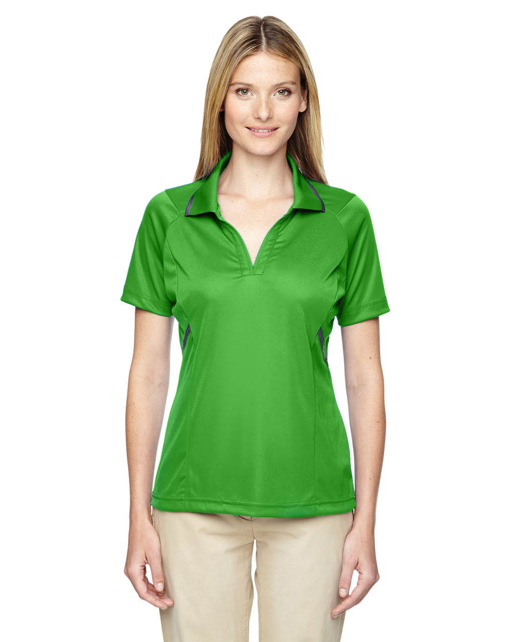 Valley Green - 75118 Ash City - Extreme Eperformance Propel Interlock Polo Shirt with Contrast Tape