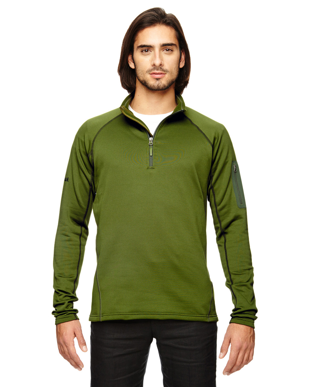 Greenland - 80890 Marmot Men's Stretch Fleece Half-Zip Sweatshirt | BlankClothing.ca