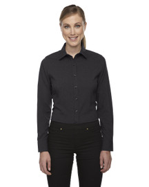 Carbon Heather - 78802 North End Sport Blue Central Ave Mélange Performance Shirt | Blankclothing.ca