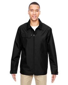 Black - 88218 North End Excursion Ambassador Lightweight Jacket with Fold Down Collar | Blankclothing.ca