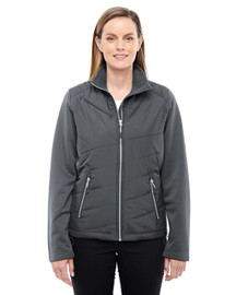 Carbon/Carbon - 78809 North End Sport Red Quantum Interactive Hybrid Insulated Jacket