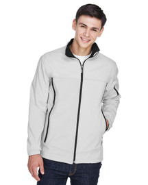 88099 North End Men's Three-Layer Fleece Bonded Performance Soft Shell Jacket   BlankClothing.ca