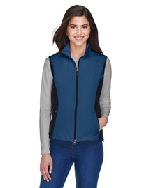 North End 78050 Ladies' Soft Shell Performance Vest | BlankClothing.ca