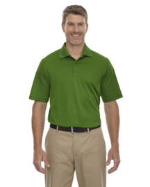Valley Green - 85116 Ash City - Extreme Eperformance Men's Stride Jacquard Polo Shirt