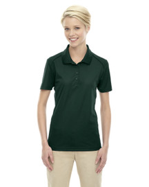 Forest Green - 75108 Ash City - Extreme Eperformance Ladies' Shield Short-Sleeve Polo Shirt | Blankclothing.ca