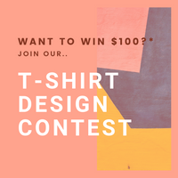Join Our T-Shirt Design Contest To Win $100!