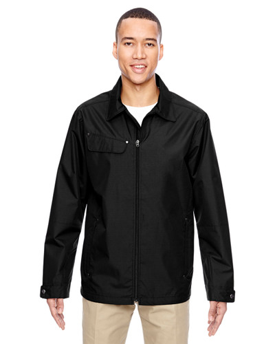Black - 88218 North End Excursion Ambassador Lightweight Jacket with Fold Down Collar   Blankclothing.ca