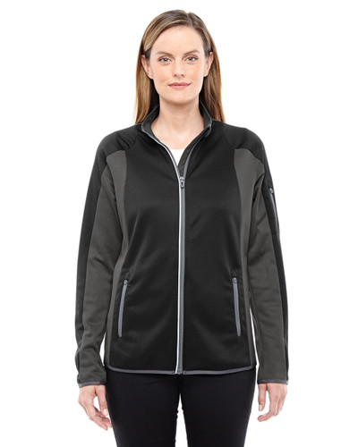 78230 North End Motion Interactive ColorBlock Performance Fleece Jacket | Blankclothing.ca
