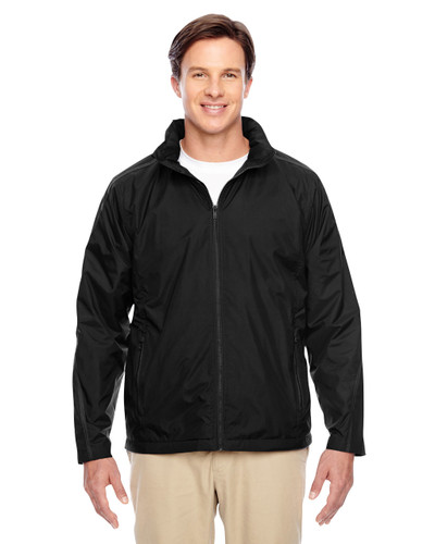 Black - TT72 Team 365 Conquest Jacket with Fleece Lining   BlankClothing.ca
