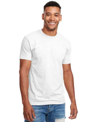 N6210 Next Level Premium Fitted CVC Crew Tee   BlankClothing.ca