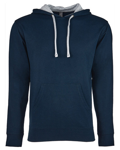 9301 Next Level Unisex French Terry Pullover Hoodie   BlankClothing.ca