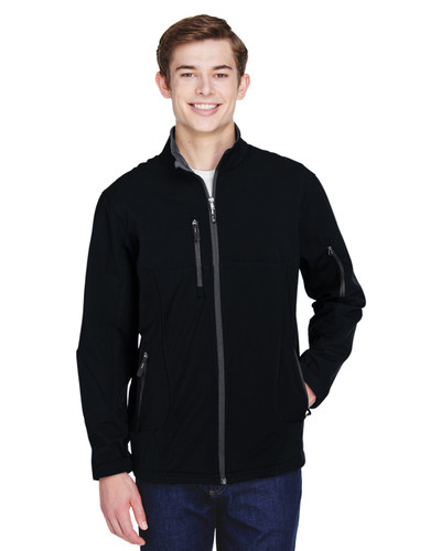 88156 North End Men's Colour-Block Soft Shell Jacket | Blankclothing.ca