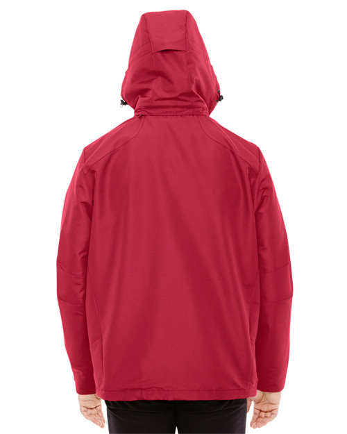 Classic Red/Black-back 88226 North End Men's Insight Interactive Shell Jacket   Blankclothing.ca