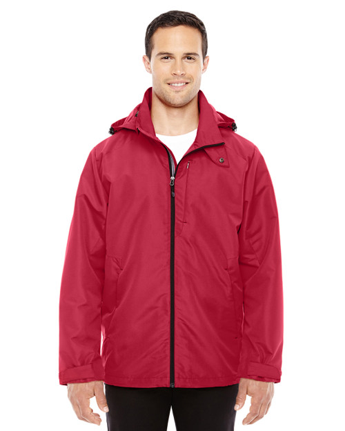 Classic Red/Black 88226 North End Men's Insight Interactive Shell Jacket | Blankclothing.ca