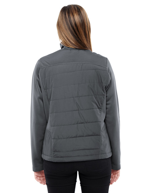 Carbon-back 78809 North End Sport Red Quantum Interactive Hybrid Insulated Jacket