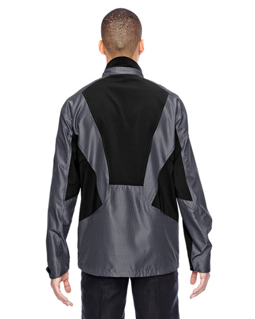 Carbon-back 88807 North End Sport Red Interactive Aero Two-Tone Lightweight Jacket