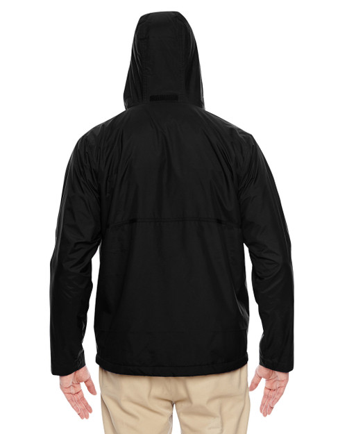 Black - Back,  TT72 Team 365 Conquest Jacket with Fleece Lining | BlankClothing.ca
