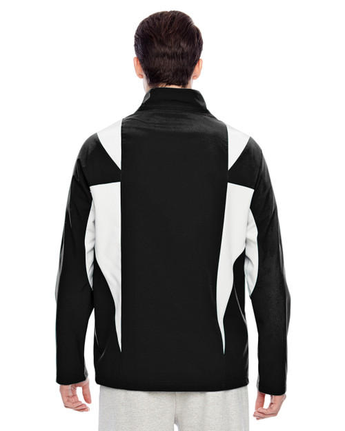 Black/Sport Silver-back TT82 Team 365 Icon Colourblock Soft Shell Jacket