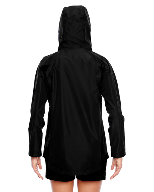 Black - Back, TT86W Team 365 Dominator Waterproof Jacket